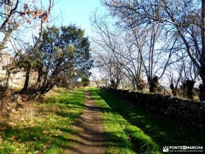 Cañadas, molinos del Río Perales; baston senderismo ocio y aventura senderos gr sendero gps